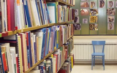 Šolska knjižnica v času šole na daljavo