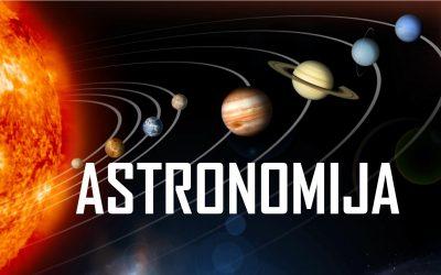 Tekmovanje iz astronomije