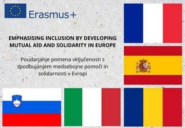 Nov Erasmus+ projekt o spodbujanju medsebojne pomoči in solidarnosti