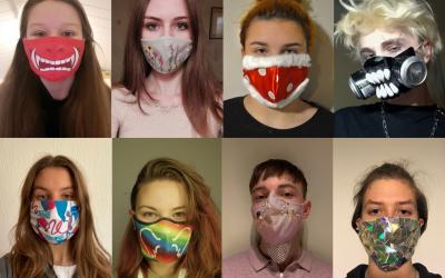 Zaščitne maske drugače